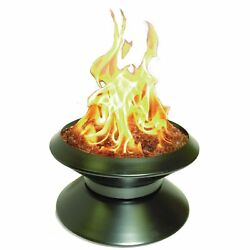 Portable Patio Fire Pit Fire Dancer Campfire Outdoor Fireplace Weatherproof lid