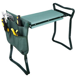 Foldable Garden Kneeler and Seat W/Bonus 12.6