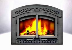 EPA APPROVED WOOD FIREPLACE - NAPOLEON NZ3000H - AS PICTURED - HERITAGE SURROUND