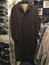 Gorgeous Brown Winter Coat 100% Wool 40R Tailored Fit Used Perfect Condition