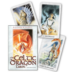 Celtic Dragon Tarot Kit NEW IN BOX Boxed Set Deck and Book 1999 Lisa Hunt $31.99