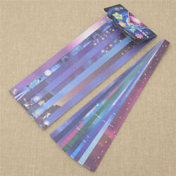 160 Strips DIY Origami Paper Star Folding Kit Lucky Wishes Hand Crafts Decoratif $2.01