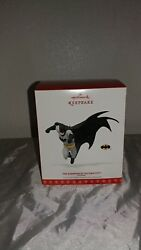 2017 Hallmark Keepsake Batman The Guardian Of Gotham City Ornament