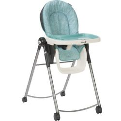 Safety 1st AdapTable Marina Blue Plastic 4 Position Multi Stage High Chair NEW