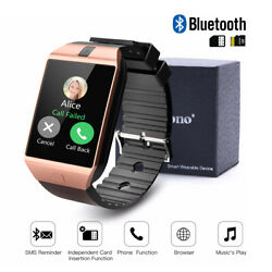 LATEST DZ09 Bluetooth Smart Watch Camera SIM Slot For HTC Samsung Android (USA)
