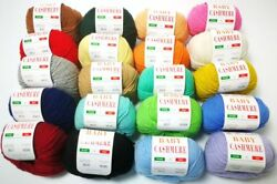 New! 6 Ply 100% Pure Baby Cashmere Knitting Yarn Ball For Crochet DIY knitting