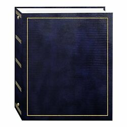 Pioneer Photo Albums Magnetic Self-Stick 3-Ring Photo Album 100 Pages 50 Sheets