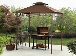 GAZEBO CANOPY TENT COVER SHELTER SHADE PERGOLA YARD PATIO FURNITURE OUTDOOR 8x5