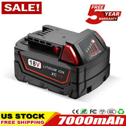 (Qty 2) For Milwaukee M18 Lithium XC 5.0 AH Extended Capacity Battery 48-11-1852 $51.99