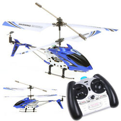 Syma S107G RC Helicopter 3CH 3.5CH Mini Remote Control Helicopter with Gyro Blue $23.98
