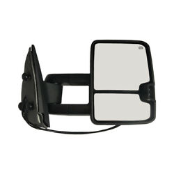 New Passenger Side Power Heated Signal Towing Mirror Chrome for Silverado 03-06