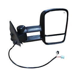 New Passenger Side Power Heated Signal Towing Mirror Chrome for GMC Sierra 03-06