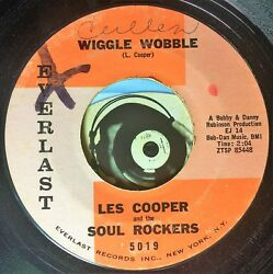 Les Cooper And The Soul Rockers 45 Wiggle Wobble Dig Yourself Soul R