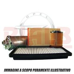 3 kits Filters Bosch ( Cabin Air Oil ) for Opel Zafira B 1.6 CNG - 69 kw
