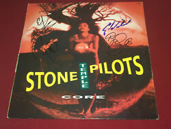 STONE TEMPLE PILOTS SIGNED CORE LP VINYL X4 SCOTT WEILAND PROOF