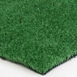 6 x 100 ft Artificial Turf Carpet Indoor Outdoor Flooring Fake Green Grass Mat