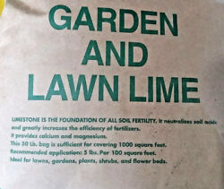 10 lbs DOLOMITE GARDEN LIME Powder Vegetable Gardens 22% Calcium 12% Magnesium $14.93