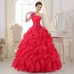 New Chic Womens Formal Prom Party Ball Dresses Bridal Wedding Gown Evening Dress