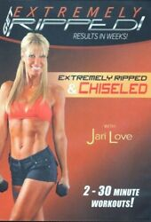 JARI LOVE GET EXTREMELY RIPPED & CHISELED DVD NEW SEALED WORKOUT FITNESS
