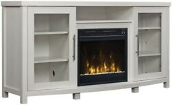 60 IN TV Media Stand Home Furniture Decor Electric Fireplace Console Cabinet NEW
