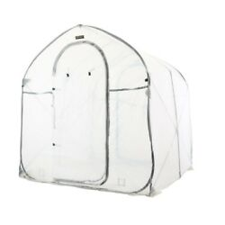 Portable Pop Up Greenhouse Flower Plant Tent Fabric Clear Cover Waterproof New