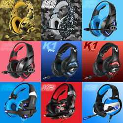 ONIKUMA K1 Pro25 Stereo Surround Gaming Headset for PS4 New Xbox One PC wMic