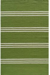 Momeni Veranda Lime Stripes IndoorOutdoor Rug - 8' X 10'