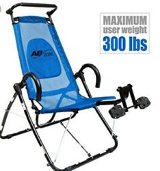 AB LOUNGE ELITE Abdominal Workout Chair Exerciser Core Trainer Machine Fitness