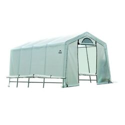 Greenhouse Replacement Cover Kit 20x10x8 ft Roll Up Side Panels Half Moon Screen