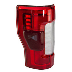 OEM NEW 2017-2019 Ford Super Duty Tail Lamp Light LH Driver LED with Blind Spot