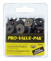Danco  0.00 in. Dia. Rubber  Assorted Washer  100 pk $10.33