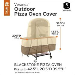 Outdoor Pizza Oven Cover Patio Kitchen Accessory Water Proof BBQ Grill Griddle