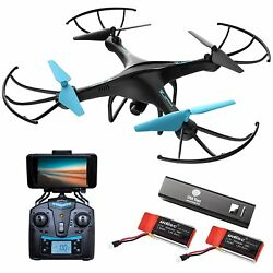 Force1 Drones With Camera U45W A Wi Fi FPV Quadcopter Blue Jay With Camera SALE $128.99