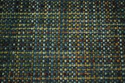 Blue Bronze Canvas Tweed Fabric 55