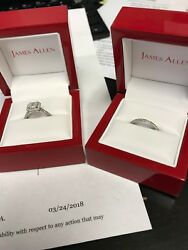 James Allen Engagement Ring Set Size 5.5 Very StylishPopular & Still New