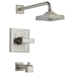 Delta T14486-SS Arzo Monitor 14 Series H2Okinetic Tub and Shower Trim–Stainless $301.17