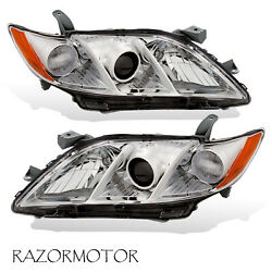 For 2007 2009 Toyota Camry US Version Replacement Projector Headlights Pair $103.94