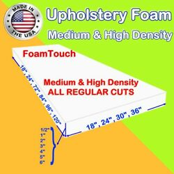 Upholstery Foam Seat Cushion Replacement Sheets variety Regular Cut by FoamTouch $8.99