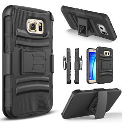 For Samsung Galaxy S7 Active Edge Phone Case Heavy Duty Belt Clip Cover+Stylus