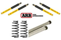 ARB Old Man Front & Rear Shocks + Coil Springs + Torsion Bar Fits Land Cruiser $962.24