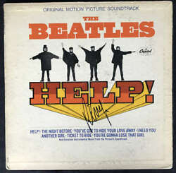 The Beatles Ringo Starr Signed Autographed Help Album Beckett BAS