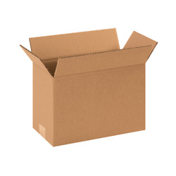 12x6x8 SHIPPING BOXES - 25 or 50 pack - Packing Mailing Moving Storage