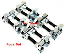4 PCS MINI COIL SPRING COMPRESSOR ADJUSTABLE SPRING STRUTS SHOCKS ADJUSTER TOOL $15.98