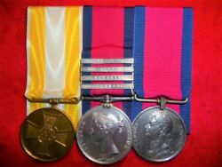 A Rare Napoleonic Wars Medal Trio to 1st Hussars King's German Legion