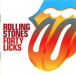 THE Rolling Stones Forty Licks RARE 2CD Virgin Music (2002) +Booklet (brand new)