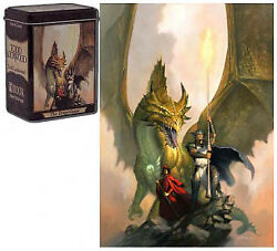 The Dragonlance Todd Lockwood Capsule Deck Box Rook GAMING SUPPLY BRAND NEW $11.95