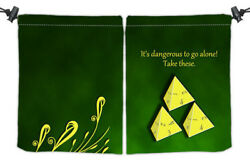 It#x27;s Dangerous Dice Bag Inked Gaming GAMING SUPPLY BRAND NEW ABUGames $19.99