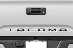BLACK Tailgate Insert Letters Decal Vinyl Stickers for Toyota Tacoma 2016 2021 $9.95