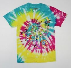 Nickelodeon Tie Dye 90s Cartoons T Shirt New Rocko Hey Arnold Real Monster 5B5 $14.99