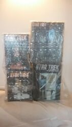 THE HOLLYWOOD COLLECTABLES ORIGINAL STAR TREK SERIES COLLECTABLES. ALL SIX MADE